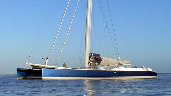 Super catamaran SWIFT now for sale